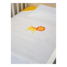 Baby Oliver Κουβέρτα Πικέ des.470 Κούνιας