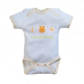 Disney Baby Εσώρουχο Κοντό Μανίκι (9-12 μηνών) des.55