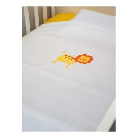 Baby Oliver Κουβέρτα Πικέ Αγκαλιάς des.470