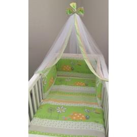 Baby Oliver Σετ Προίκας des.605 (Πάπλωμα-Πάντα-Κουνουπιέρα)