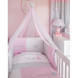 Baby Oliver Σετ Προίκας des.308 (Πάπλωμα-Πάντα-Κουνουπιέρα)