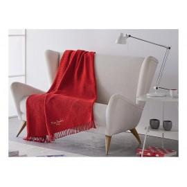 Pierre Cardin κουβέρτα καναπέ des.34 Ισπανίας κόκκινη