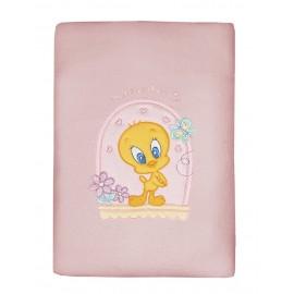 Baby Looney Tunes Κουβέρτα Πλεχτή des.28 Κούνιας