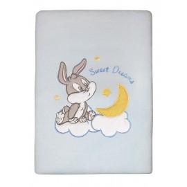 Baby Looney Tunes Κουβέρτα Πλεχτή des.29 Κούνιας