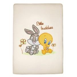 Baby Looney Tunes Κουβέρτα Πλεχτή des.30 Αγκαλιάς